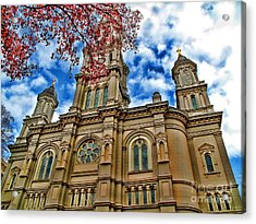 Cathedral Acrylic Print by Jason Abando