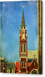 Acrylic Print featuring the photograph Cathedral by Joan Bertucci