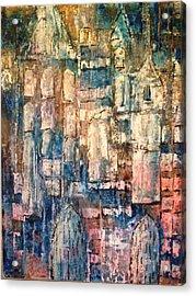 Cathedral Acrylic Print by Kelli Perk