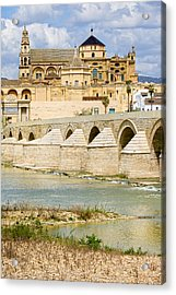 Cathedral Mosque In Cordoba Acrylic Print by Artur Bogacki