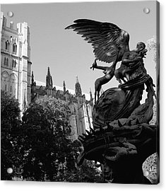 Cathedral Of Saint John The Divine - Acrylic Print