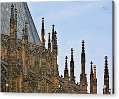 Cathedral Of Ss Vitus - Prague Castle Hradcany - Prague Acrylic Print by Christine Till