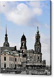 Catholic Church Of The Royal Court - Hofkirche Dresden Acrylic Print