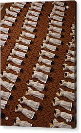 Catholic Clergy Prostrate Themselves Acrylic Print by James L. Stanfield