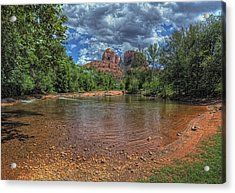 Cathredral Acrylic Print by Stephen Campbell