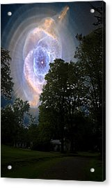 Cat's Eye Nebula From Earth Acrylic Print