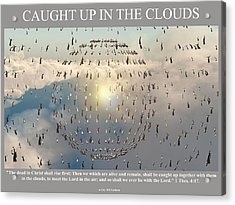 Caught Up In The Clouds Acrylic Print