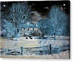 Caumsett Farm House Acrylic Print