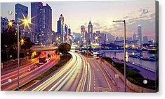 Causeway Bay Acrylic Print by Andi Andreas