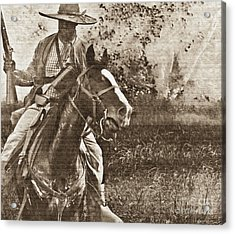 Cavalry Rides Again Acrylic Print by Kim Henderson