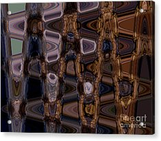 Cave Abstract 5 Acrylic Print by Tashia Peterman