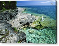Cave Point Vista Acrylic Print