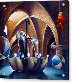 Caverna Magica Acrylic Print by Patrick Anthony Pierson