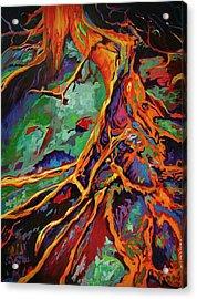 Cedar Roots Acrylic Print