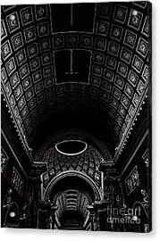 Acrylic Print featuring the photograph Ceiling. Vatican by Tanya  Searcy