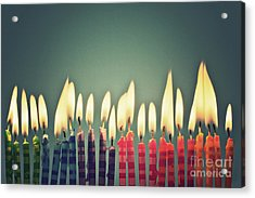 Celebrate Acrylic Print by Catherine MacBride
