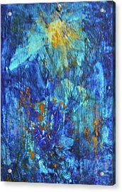 Acrylic Print featuring the painting Celebration 2 by Mary Sullivan