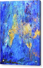Acrylic Print featuring the painting Celebration by Mary Sullivan