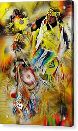 Acrylic Print featuring the photograph Celebration Of Nations by Vicki Pelham