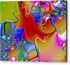 Celebration . S16 Acrylic Print by Wingsdomain Art and Photography