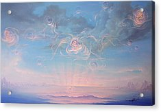 Celestial Connection Acrylic Print by Hans Doller