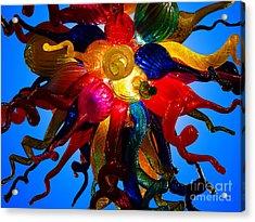 Celestial Glass 7 Acrylic Print by Xueling Zou