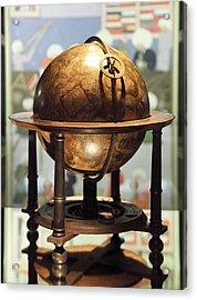 Celestial Globe, 17th Century Acrylic Print by Detlev Van Ravenswaay