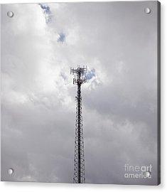 Cell Phone Tower Acrylic Print by Paul Edmondson