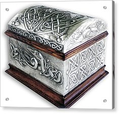Celtic Chest 1 Acrylic Print by Rodrigo Santos
