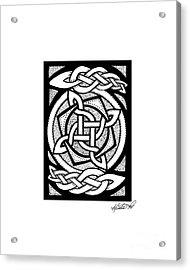 Celtic Knotwork Rotation Acrylic Print