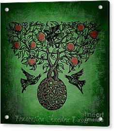 Celtic Tree Of Life Acrylic Print by Sacred  Muse