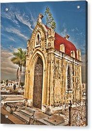 Cemeterio De Colon Acrylic Print by Beverly Hanson
