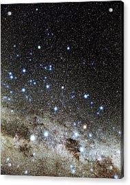 Centaurus And Crux Constellations Acrylic Print by Eckhard Slawik