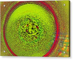 Centering Self Acrylic Print by James Mancini Heath