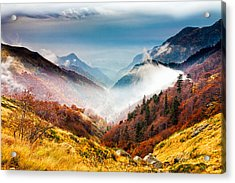 Central Balkan National Park Acrylic Print