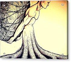 Central Beliefs Of Helplessness Acrylic Print by Paulo Zerbato