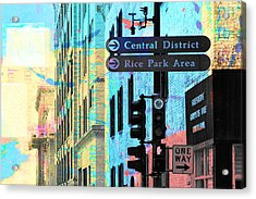 Central District Acrylic Print