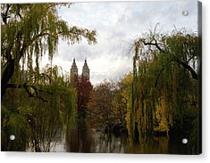 Central Park Autumn Acrylic Print