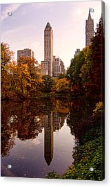 Acrylic Print featuring the photograph Central Park by Michael Dorn