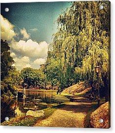 Central Park North. #centralpark #nyc Acrylic Print