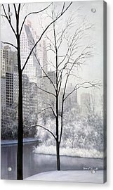 Central Park Vertical Acrylic Print