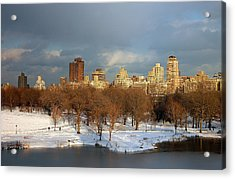 Central Park View Acrylic Print by Sarah McKoy