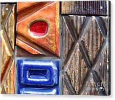 Ceramic Tiles Acrylic Print