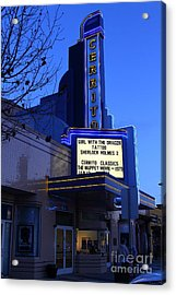 Cerrito Theater In El Cerrito California . 7d11035 Acrylic Print by Wingsdomain Art and Photography