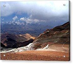 Cerro El Pintor Chile Acrylic Print