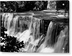 Acrylic Print featuring the photograph Chagrin Falls by Michelle Joseph-Long