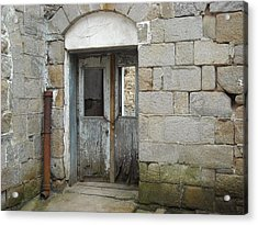 Acrylic Print featuring the photograph Chained Doors by Christophe Ennis