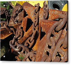 Chains And Anchors Acrylic Print