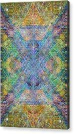 Chalicell Garden Mandala Acrylic Print