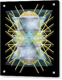 Chalices From Pi Sphere Goldenray II Acrylic Print